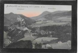 AK 0391  Breitenstein Am Semmering Mit Erholungsheim & Polleroswand Um 1909 - Semmering