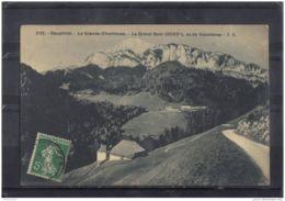 3861 .. LA GRANDE CHARTREUSE . LE GRAND SOM . VU DE VALOMBRAY . E.R . CIRCULE . 1910 - Chartreuse