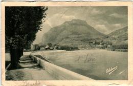 51es 320 CPA - GRENOBLE - L'ISERE ET LE CASQUE DE NERON - Grenoble