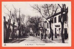 Alg175 ( Etat Parfait ) EL MILIA Algérie Rue Principale Scène Villageoise 1910s E.P.A 4 Editions Photo-Africaines - Other Cities