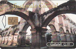GUATEMALA - Colonial Guatemala-Templo Y Convento De Santa Clara - Tarjeta 4, Telgua-111, Used - Guatemala