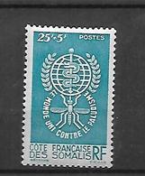 Cote Française Des Somalis 1962       Cat Yt  N°  304  N** MNH - Französich-Somaliküste (1894-1967)