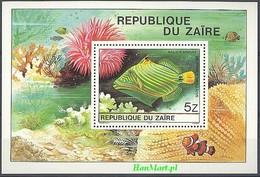 Congo Kinshasa/Zaire 1980 Mi Bl 38 MNH ( ZS6 ZREbl38 ) - Fishes