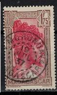 MADAGASCAR            N°  YVERT   176 B (1)   OBLITERE       ( Ob   1/09 ) - Madagascar (1889-1960)