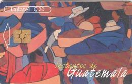 GUATEMALA - Painting 1 , Telgua-115, Used - Guatemala