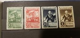 Sowjetunion-1941 MI 806-809 , Sol 802-805  Postfrisch-MNH - 1923-1991 USSR