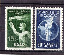 Saarland, Nr. 314/15* ( T 13068) - 1947-56 Protectorate