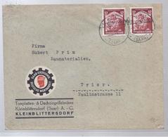 AK-23623 -   Frankatur   Von Kleinblittersdorf Saar - Nach Trier - Privé