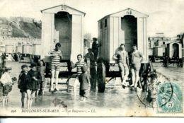 N°760 T -cpa Boulogne Sur Mer -les Baigneurs- - Boulogne Sur Mer