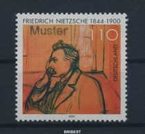 BUND 2000 Nr 2131 ** Mit MUSTER Handstempel (90031) - BRD