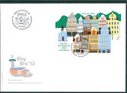 SCHWEIZ 2012 Ersttagsbrief (202113) - Schweiz