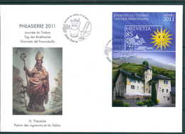 SCHWEIZ 2011 Ersttagsbrief (202112) - Schweiz