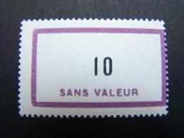 FICTIFS NEUF ** N°F156 SANS CHARNIERE (FICTIF F 156) - Phantom