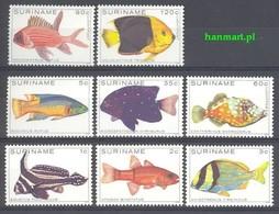 Suriname 1979 Mi 869-876 MNH ( ZS3 SRN869-876 ) - Fishes