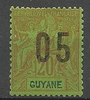 GUYANE  N° 68A NEUF* LEGERE TRACE DE CHARNIERE / MH - Nuovi