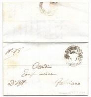 REPUBBLICA ROMANA - DA COLLAMATO A FABRIANO - 5.5.1849. - ...-1850 Préphilatélie