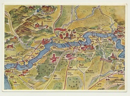 AK  Map Mainlauf Hanau Bis Mündung - Mapas
