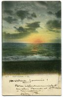 CPA - Carte Postale Signée Par HENRI BAELS - Belgique - Ostende - Soleil Couchant - 1904 ( HB10887) - Oostende