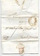 REPUBBLICA ROMANA - DA MATELICA A PORTO RECANATI - 30.5.1849. - ...-1850 Préphilatélie