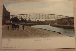 ATH - PONT CAMBIER Sur La DENDRE - NELS - Série:78 - N°47 - Colorisé - Circulé: 1905 - 2 Scans - Ath
