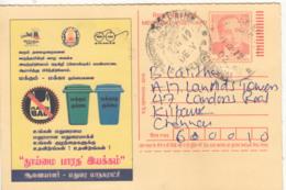 Used PC 'Ban Plastic' Segeregate Waste, Save Environment, Tomorrow World Homi Bhabha Physics Energy Meghdoot - Umweltverschmutzung