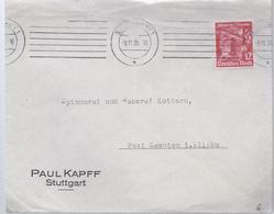 AK-23639 -    Frankatur  Stuttgart Nach Kempten  Vom 9.11.1935 - Posta Privata