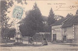 AVIT18- BELLEY   DANS L'AIN LA SOUS PREFECTURE   CPA  CIRCULEE - Belley