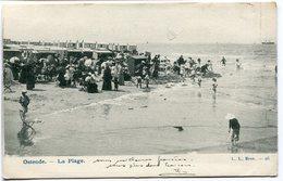 CPA - Carte Postale Signée Par HENRI BAELS - Belgique - Ostende - La Plage - 1905 ( HB10889) - Oostende