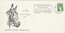 """Env. De """"Le Bugue - 24, Dordogne"""" Du 24-05-1982, """"Concours Hippique International"""" Sur YT 2154 - Marcophilie (Lettres)"""