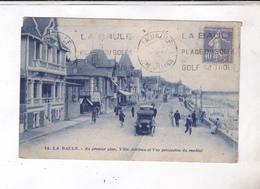 CPA DPT 44 LA BAULE, AU PREMIER PLAN, VILLA ADRIANA ET VUE PERSPECTIVE DU REMBLAIS En 1920! - La Baule-Escoublac