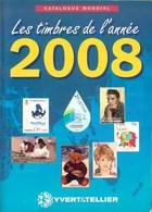 YVERT & TELLIER - CATALOGUE MONDIAL Des TIMBRES De L'ANNEE 2008 (Occasion) - Frankreich