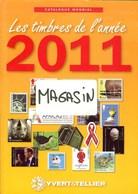 YVERT & TELLIER - CATALOGUE MONDIAL Des TIMBRES De L'ANNEE 2011 (Occasion) - France