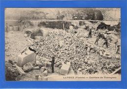 86 VIENNE - LAVOUX Carrière De Thérageau (voir Descriptif) - Francia