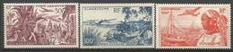 GUADELOUPE PA N° 13 à 15 NEUF** SANS  CHARNIERE  / MNH - Guadeloupe (1884-1947)