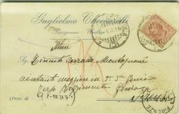 PASSIGNANO SUL TRASIMENO ( PERUGIA ) GUGLIELMO CHECCARELLI - CARTOLINA AUTOGRAFA - 1916 (3966) - Perugia