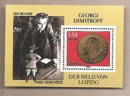 DDR - Foglietto Nuovo Michel Block 68: The 100th Anniversary Of The Birth Of Georgi Dimitroff - 1982 *G - Nuovi