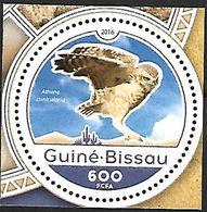 GUINEA BISSAU - MNH - 2016  -    Burrowing Owl  -  Athene Cunicularia - Vögel