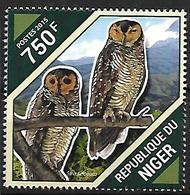 NIGER - MNH - 2015 - Spotted Wood Owl   - Strix Seloputo - Eulenvögel