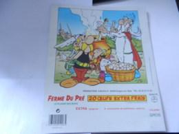 5 PUBLICITES ASTERIX FERME DU PRE 4 ANNEE 1988 ET UNE 1992 - Publicités
