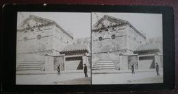 VUE STÉRÉOSCOPIQUE    - Poitiers, Temple Saint Jean Colomb. - Stereoscopic