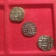 Butan 3 Half Rupee Deb Period III - Bhutan