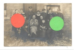 Photo Carte De Soldats Anglais En 1918 , à Spa, Sart Ou Environs. A SITUER - Guerre 14/18 (b272) - Guerra 1914-18