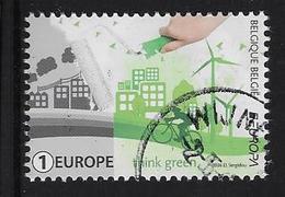 Think Green Europa Cept - Oblitérés