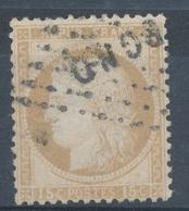 N°55 OBLITERATION LETTRE. - 1871-1875 Ceres
