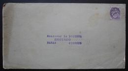 Irrastérine Byla, Document Publicitaire Médical Envoyé à Bazas (Gironde) - 1921-1960: Période Moderne