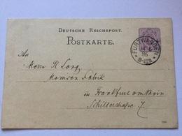 K8 Deutsches Reich Ganzsache Stationery Entier Postal P 12 Von Furtwangen - Germany