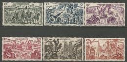 GUADELOUPE PA N° 7 à 12 NEUF** SANS  CHARNIERE  / MNH - Guadeloupe (1884-1947)