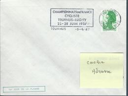 Championnat De FRANCE Cycliste Tournus 71 - Lugny 71 Le 23 - 28 Juin 1987 - Radsport