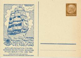 BERLIN - 1941 , Privatganzsache  SEEGELTUNG  WELTGELTUNG - Germany