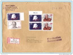 BUND BRD FRG GERMANY - R- Brief  Registered Cover Lettre Einschreiben --- 8542 Roth - Mittelfr 3   (30791) FFF - [7] Repubblica Federale